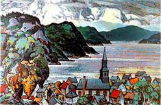 Marc- Aurele Fortin is known and admired as the great champion of the Quebec landscape painters. Canadian Painters, Painter Artist, Quebec City, Objet D'art, Sculpture, Middle Ages, Love Art, Watercolor Art, Images