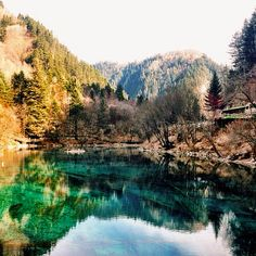 Jiuzhai Valley National Park. 24 Awe-Inspiring National Parks That Will Make You Want To Grab Your Hiking Boots