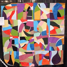 Modern Art in Quilt Form by Sue Cortese - Wall Quilts - Machine Quilted