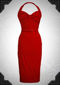 Dames Dress in Red