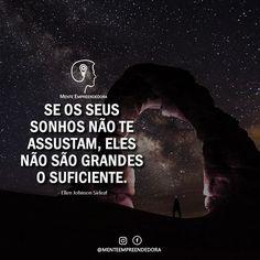 Sonhe Grande e comece pequeno. A humildade é a base do Sucesso e a Ambição Sadia é a luz no Horizonte.  Por John Pinheiro Fundador do #MenteEmpreendedora.  _______________________________________ Gostou?  Marque seu amigo que gostaria de ler essa mensagem!