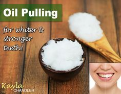The ONLY Natural Remedy that has worked for me to achieve whiter teeth!  Oil Pulling.  See how it works...