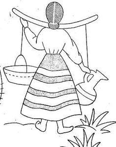 9475 vintage hand embroidery pattern mexico way for kitchen towels 1940s