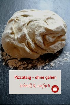 #Pizzateig ohne gehen schnell und einfach Thermomix Bread, Burger Co, Pizza Snacks, Pizza And More, Pampered Chef, Pizza Dough, Bread Baking, Carne, Salad Recipes