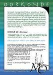 Overhandiging eerste jaarboek Historische Vereniging Midwoud/Oostwoud