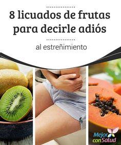 8 licuados de frutas para decirle adiós al estreñimiento  La comida procesada o grasosa, el sedentarismo o el exceso de estrés pueden ser causantes de estreñimiento, un mal que muchas personas padecen.