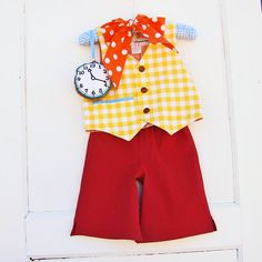 Boys White Rabbit Costume  Baby or Toddler by reimaginedtreasures