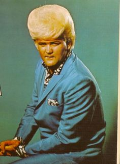 Wayne Cochran in a get up only he could (or would) wear. Wayne Cochran: The Man, The Hair. On The Jackie Gleason Show, 1968 . Bad Hair Day, Big Hair, Men's Hair, Awkward Photos, Dangerous Minds, Retro Hairstyles, Funny Hairstyles, Crazy Hairstyles, Blonde Hairstyles