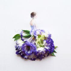 Love Limzy faz belíssimos trabalhos com flores
