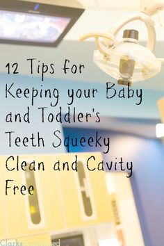 One of the best things you can do for your child is teach them good dental habits early on in life. Here are 12 tips for keeping your baby o... #ClarksCondensed