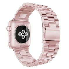 42 38 Mm Apple Watch Replacement Stainless Steel Wrist Band Strap Iwatch Rose Gold