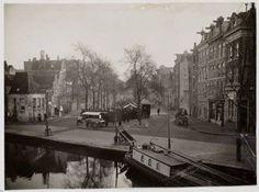 Amsterdam, Lindengracht. waarschijnlijk rond begin 1900. Gezien vanaf de…