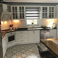 29 Trendy Home Design Kitchen Dining Rooms Interior Design Kitchen, Home Design, Interior Design Living Room, Living Room Designs, White Kitchen Cabinets, Kitchen Dining, Kitchen Decor, Dining Rooms, Trendy Home