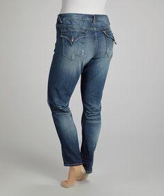 Look what I found on #zulily! Medium Tint New York Tomboy Jeans - Plus by Vigoss #zulilyfinds