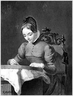 Charles Heath (British, 1785-1848) ~ Janet Foster