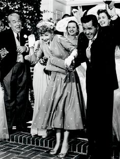 Lucille Ball And Desi Arnaz Following Their Second Wedding At Our Lady Of The Valley Church In Canoga Park California On June 19 1