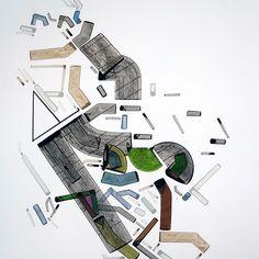 #abstractpainting on #paper #abstractart #mind #map #archuitecture #emotional #emotions #graphicart #followforfollow #art #artist #artgallery #artgalleries #artcollective #artcollector #artcollection #artistinthemaking #artifact #artoftheday #artistofinstagram #artistoninstagram #colors #acrylicpainting #topography #artforsale #artforall #buyart #a #artonline #like4like - http://ift.tt/1HQJd81
