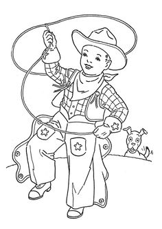52 Best Cowboy Ideas Images In 2016 Coloring Books