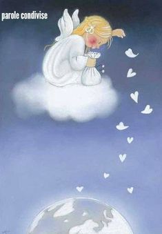 Angel Confetti From Heaven - Klikkaa sulkeaksesi Kaarina Toivanen Angel Pictures, Cute Pictures, Angel Drawing, I Believe In Angels, Angels Among Us, Angel Cards, Guardian Angels, Vintage Christmas Cards, Christmas Angels