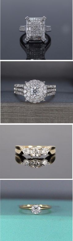 Diamond Engagement Rings - Top Bridal Rings Collection - Diamond Jewelry