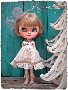 https://flic.kr/p/io3Wfe | Wishing all a very Happy Holiday time! | Custom Jecci Five   Dress by KaerieFaerie Boots and custom by me