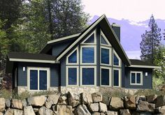 Home Award Winners Post & Beam Modern Homes Traditional Homes Retreats & Cottages Country Homes Prow & Cedar Homes Timber Frame & Log Estate Homes Small Cabins Residential Craftsman Ranchers Basement Entry Garages & Outbuilding House Plans - TheEverett 2 … Read More
