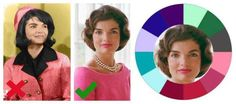 Jaqueline Kennedy Onassis - beautiful Winter coloring   #Jackie Kennedy Onassis #Winter coloring #color analysis http://www.style-yourself-confident.com/seasonal-color-analysis-winter.html