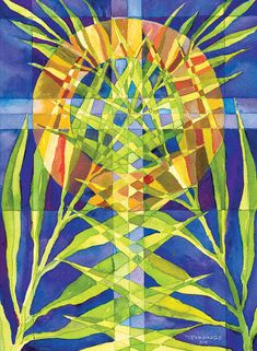 Palm Sunday Painting by Mark Jennings