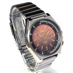 9ecec358ee32 Massive vintage AUTOMATIC watch ORIENT men s Y469135A - 4A CA JAPAN MADE   Япония  автоподзавод