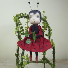Cherry Ladybug | Joe Spencer Dolls