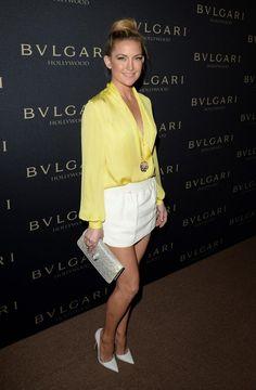 Kate Hudson in Emilio Pucci - BVLGARI Decades of Glamour event