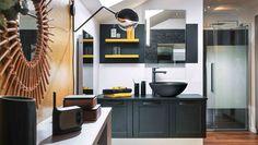Meubles de salles de bains sur-mesure   Mobalpa Room Divider, Bathroom Accessory Sets, Deco, Bathroom, Furniture, Toilet Accessories, Home, Entryway, Home Decor