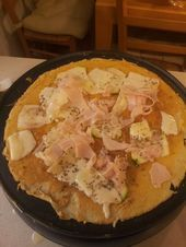 COCAdeOCA zucchini ham cheese and regano crepe express Cocadeoca Crepe Recipes, Ham And Cheese, Hawaiian Pizza, Potato Salad, Zucchini, Ethnic Recipes, Food, Ideas, Recipes