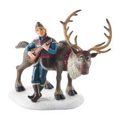 The Jolly Christmas Shop - Dept 56 Frozen Village Kristoff Serenading Sven Figure 4049327, $42.50 (http://www.thejollychristmasshop.com/dept-56-frozen-village-kristoff-serenading-sven-figure-4049327/?page_context=category