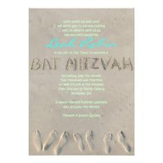 34 best beach bat mitzvah invitation inspiration images on pinterest
