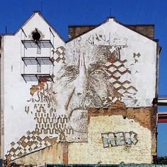 While you discovered his newest piece in Portugal a few days ago (covered), Vhils is back at it with a brand new piece which was recently fi...