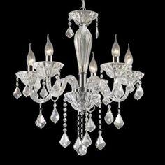 Candelabru TIEPOLO SP5 marca Ideal Lux Chandelier, Ceiling Lights, Lighting, Classic, Design, Home Decor, Derby, Candelabra, Decoration Home