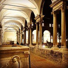 Chiostro del Museo di Ravenna - Instagram by nicole_pasini