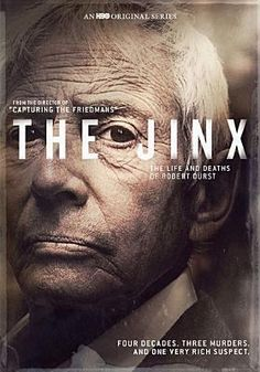 A groundbreaking documentary series sheds new light on real-estate icon, Robert Durst, while unraveling one of the most notorious unsolved crimes in New York history. OCT 2015.  Watched it on HBO but had to buy it. Have watched it at least 3 times since. I drove by the Benedict Canyon house twice a day for the last year. Unreal story. See ALL GOOD THINGS. not great but is dramatized version with Ryan Gosling and Kirsten Dunst.