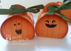 Curvy Keepsake box pumpkins