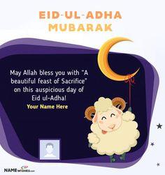 Eid Ul Adha Mubarak Greetings, Eid Adha Mubarak, Happy Eid Mubarak, Best Eid Wishes, Eid Al Adha Wishes, Happy Eid Ul Fitr, Eid Poetry, Muslim Love Quotes, Eid Cards
