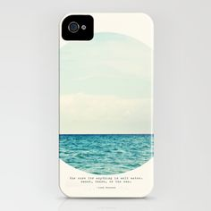 Salt Water Cure iPhone Case. Society 6 customizable objects and art.