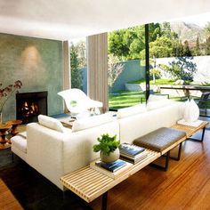 Low Bench Behind Sofa Design, Pictures, Remodel, Decor and Ideas - page 3