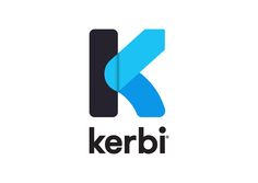 Logo design for Kerbi - a kerb-side cycle repair service. By Ascend Studio.