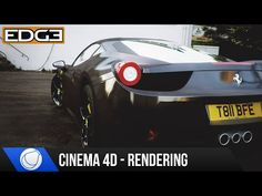 Cinema 4D & Octane Renderer Car Rendering Tutorial - Ferrari Italia Part 2 HD - YouTube