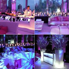Fabulous Lounge Party at Mandarin Oriental NYC- Van Vliet and Trap Event Design