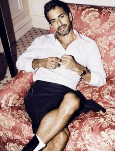 Designer Marc Jacobs captured by photographer, Marcus Mam at See Management