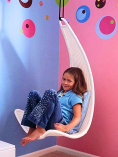 New Home Interior Design: A Polka-Dot Tween Room