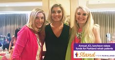 Junior Charity League held their annual luncheon benefiting Parkland. For more than 45 years, they have raised over $2 million for those receiving in-patient and out-patient care in Parkland Hospital's Physical Medicine & Rehabilitation Unit. Like this post to thank them for their continued support!