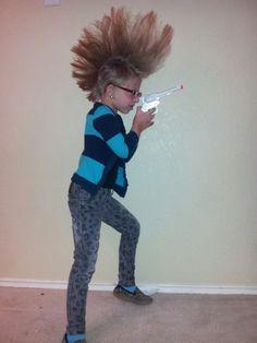 Mohawk little girl